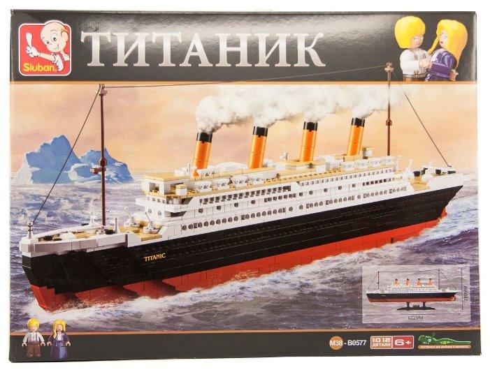 Конструктор SLUBAN Titanic M38-B0577 — купить по выгодной цене на Яндекс.Маркете