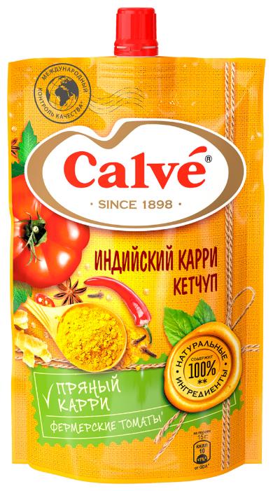 Кетчуп Calve Индийский карри