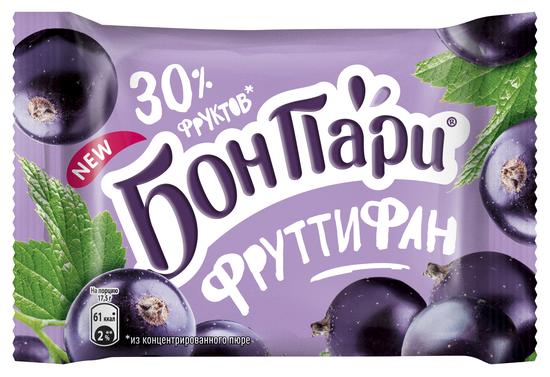 Мармелад Бон Пари ФруттиФан черная смородина 42 г