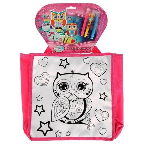 Купить MultiArt Набор для росписи сумки Совушки (ST-1507-OWL), Роспись предметов