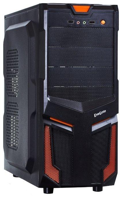 ExeGate Компьютерный корпус ExeGate EVO-7214 600W Black