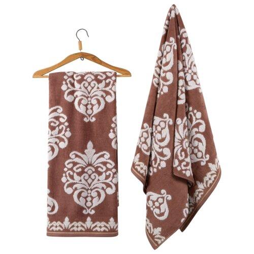 Guten Morgen полотенце Рицо универсальное 50х90 см белый/коричневый