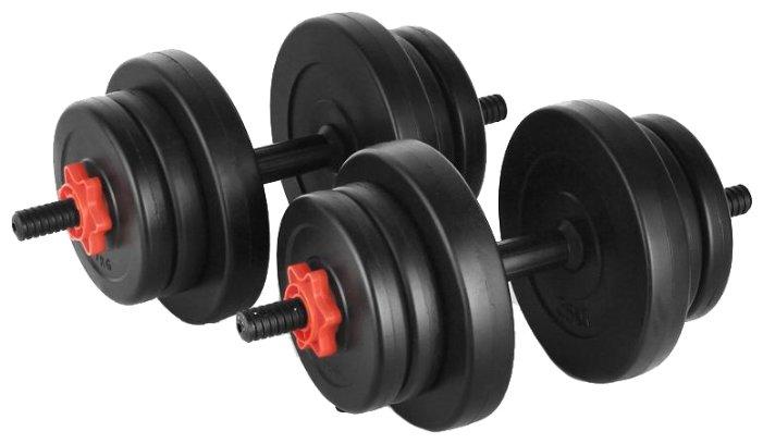 Гантель сборная Lite Weights 2327LW (20 кг, либо 10 кг х 2 шт)