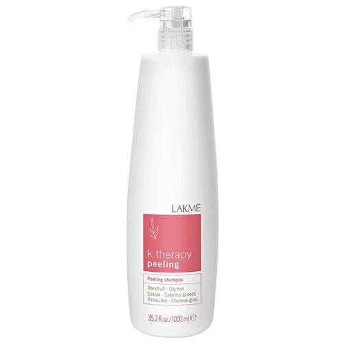 Lakme шампунь K.Therapy Peeling против перхоти для жирных волос 1000 мл с дозаторомШампуни<br>