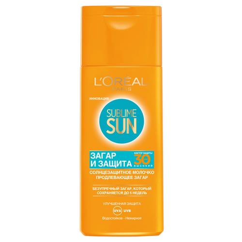 L'Oreal Paris Sublime Sun молочко для тела Загар и защита SPF 30 200 мл spf защита