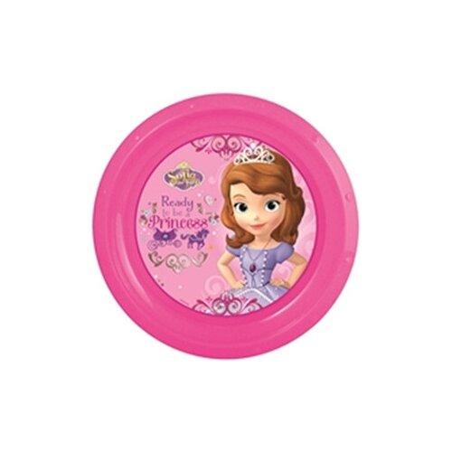 Stor Тарелка Принцесса София 21 см розовыйТарелки<br>