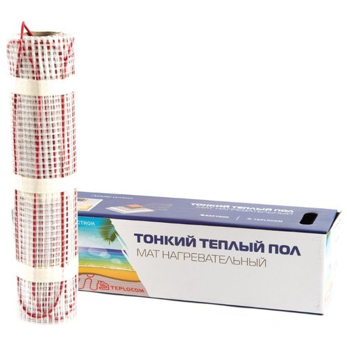 Электрический теплый пол TEPLOCOM МНД-6,0-960 ВтЭлектрический теплый пол<br>