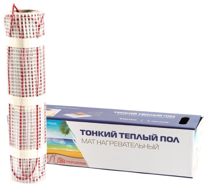 Нагревательный мат TEPLOCOM МНД-1,0-160 Вт