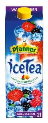 Чай Pfanner Лесная ягода с пониженным содержанием сахара, тетра-пак