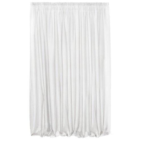 Тюль Kauffort Oriana на тесьме 275 см белый