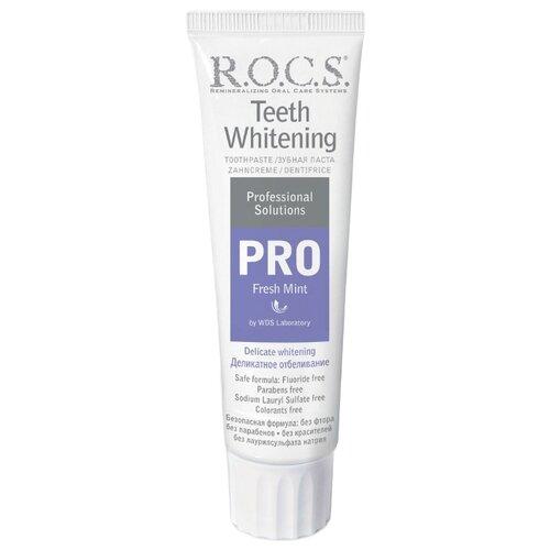 Зубная паста R.O.C.S. Pro Деликатное отбеливание Свежая мята 135 гЗубная паста<br>