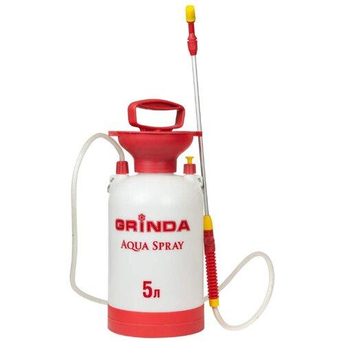 Опрыскиватель GRINDA Aqua Spray 5 л белый/красный опрыскиватель solo 461 5 л белый красный черный