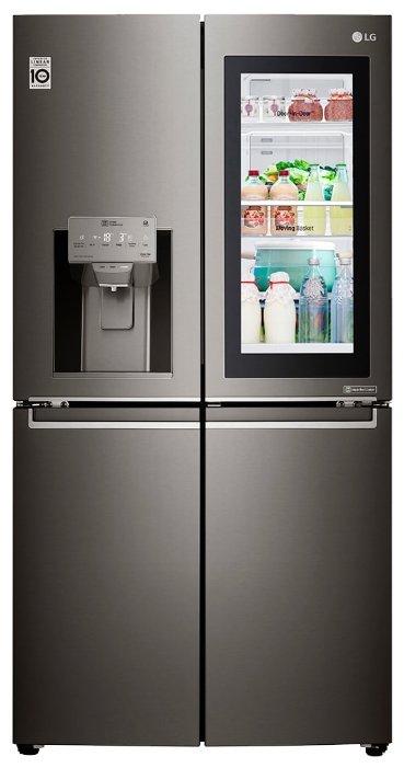 Холодильник LG GR-X24 FTKSB — купить по выгодной цене на Яндекс.Маркете