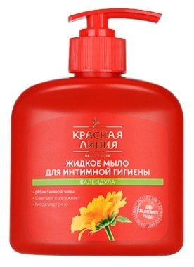 Красная линия Жидкое мыло для интимной гигиены Календула, 250 мл