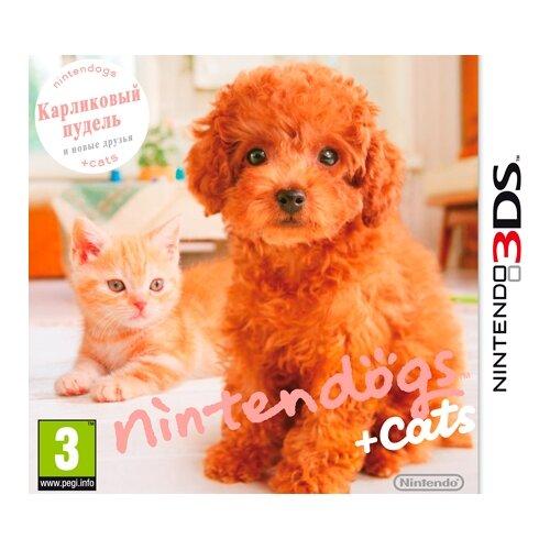 Игра для Nintendo 3DS nintendogs + cats: Карликовый пудель и новые друзья