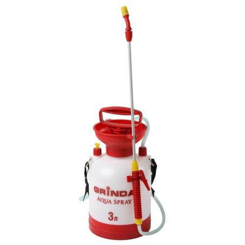 Опрыскиватель GRINDA Aqua Spray 3 л белый/красный опрыскиватель садовый grinda aqua spray 8 425115 z01 5 л
