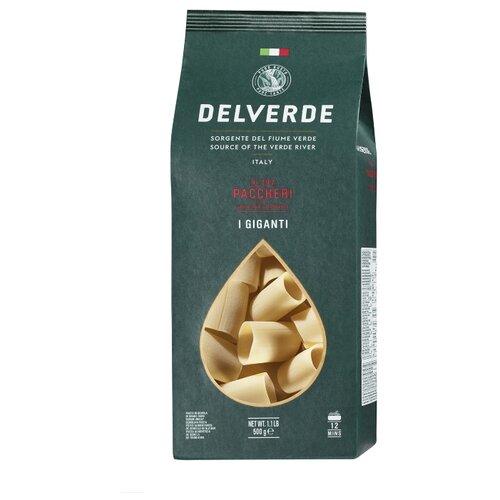 Delverde Industrie Alimentari Spa Макароны I Giganti №197 Paccheri, 500 г
