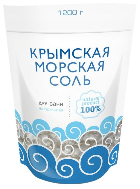 Greenfield Крымская морская соль Натуральная, 1.2 кг