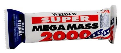 Weider энергетический батончик Mega Mass 2000 (60 г)(1 шт.)