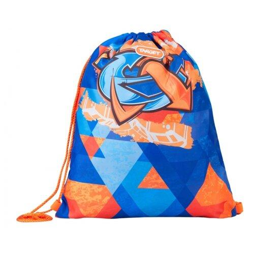 Купить Target Сумка для детской сменной обуви Murales (21361) синий/оранжевый, Мешки для обуви и формы