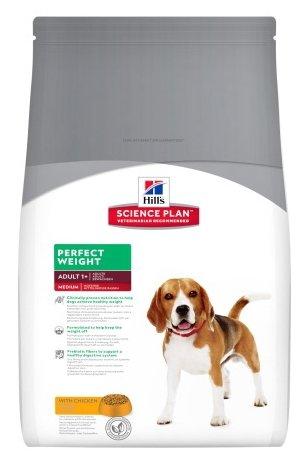 Корм для собак Hill's Science Plan Canine Adult Perfect Weight Medium with Chicken
