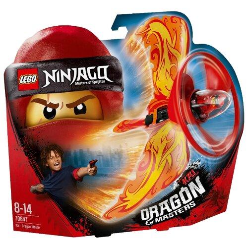 Купить Конструктор LEGO Ninjago 70647 Кай - Мастер дракона, Конструкторы