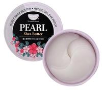 Koelf Гидрогелевые патчи для век с маслом ши и жемчужной пудрой Pearl & shea butter hydrogel eye patch