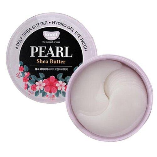 Koelf Гидрогелевые патчи для век с маслом ши и жемчужной пудрой Pearl & shea butter hydrogel eye patch (60 шт.) koelf патчи для глаз с маслом ши и жемчужной пудрой 60 шт