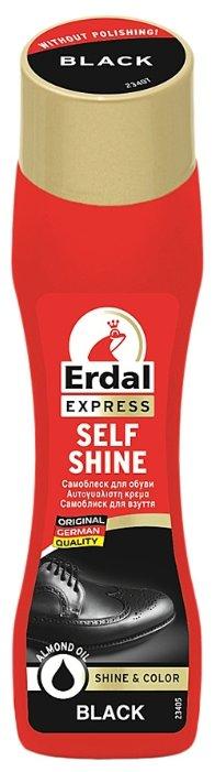 Erdal Express Самоблеск для обуви черный