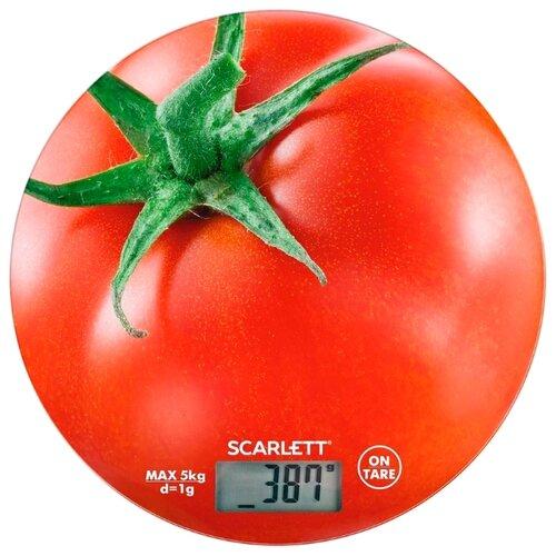цена на Кухонные весы Scarlett SC-KS57P38 красный