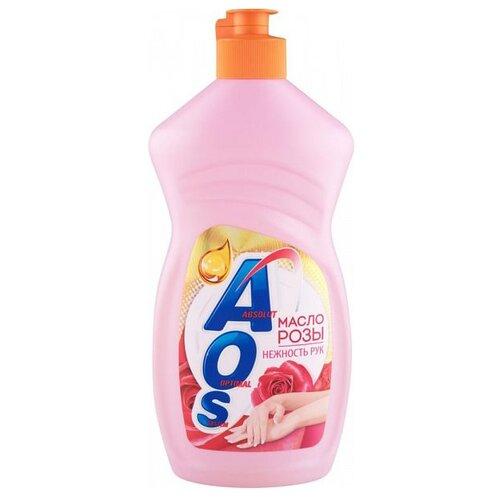 AOS Средство для мытья посуды Масло розы 0.45 кгДля мытья посуды<br>