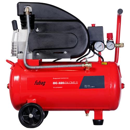 Фото - Компрессор масляный Fubag DC 320/24 CM2.5, 24 л, 1.8 кВт компрессор масляный fubag b5200b 200 ct4 200 л 3 квт