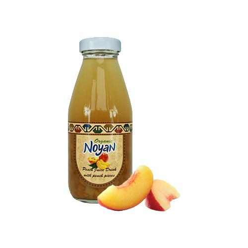 Напиток сокосодержащий Noyan органический Персик, 0.33 л