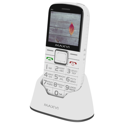 Купить Телефон MAXVI B5 белый