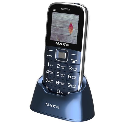 Купить Телефон MAXVI B6 маренго