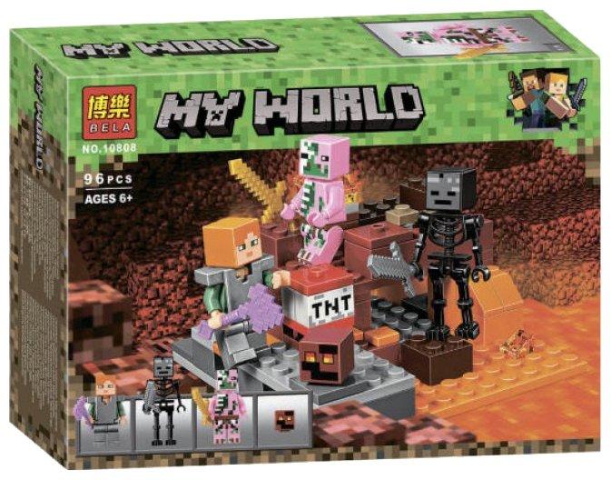 Конструктор BELA (Lari) My World 10808 Бой в Подземелье