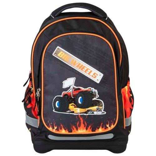 Купить Target Рюкзак супер лёгкий Большие колеса (17887) черный/оранжевый, Рюкзаки, ранцы