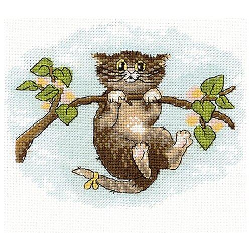 Купить Сделай своими руками Набор для вышивания крестиком Подсадите! 16 х 13 см (П-31), Наборы для вышивания