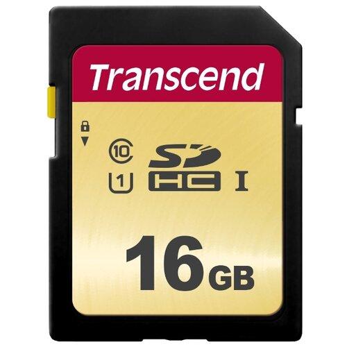 Карта памяти Transcend TS16GSDC500S