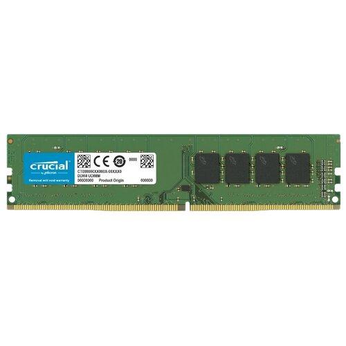 Оперативная память Crucial DDR4 2400 (PC 19200) DIMM 288 pin, 4 ГБ 1 шт. 1.2 В, CL 17, CT4G4DFS824A