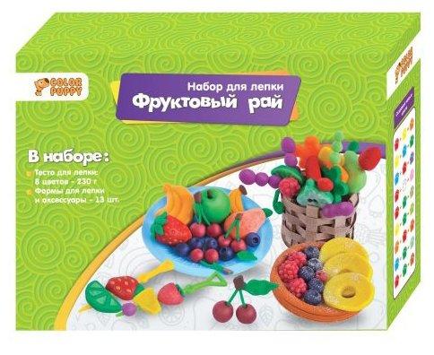Масса для лепки Color Puppy Фруктовый рай (637004)