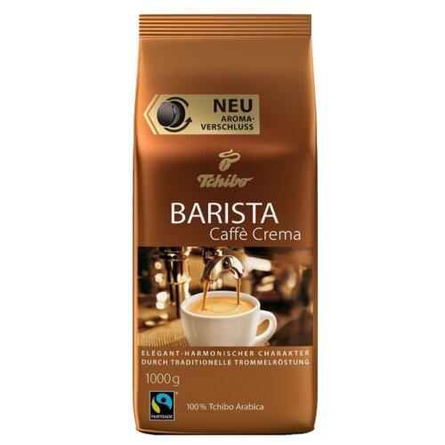 Кофе в зернах Tchibo Barista Caffe Crema, арабика, 1 кг кофе в зернах caffe carraro crema italiano 1 кг