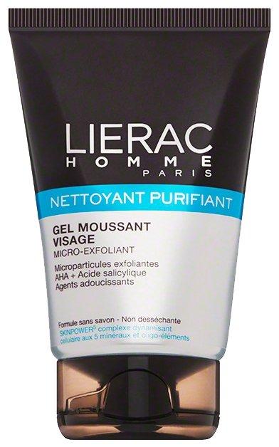 Lierac Гель для лица очищающий микро-отшелушивающий Homme Nettoyant Purifiant