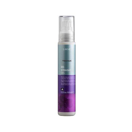 Lakme Teknia Straight Гель для гладкости вьющихся, объемных волос или волос с нарушенной структурой, 100 млМаски и сыворотки<br>