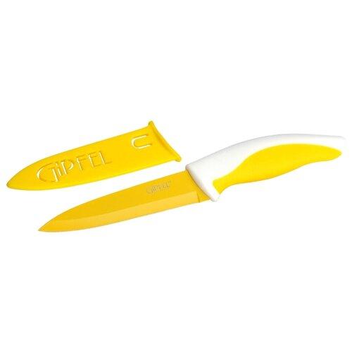 GIPFEL Нож Picnic 10 см желтый/белый