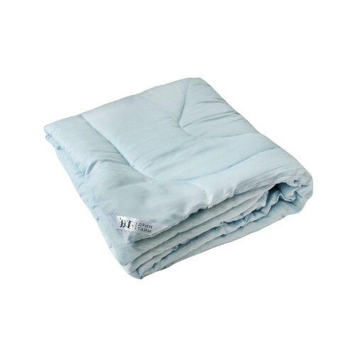 Одеяло DREAM TIME Синтепон, легкое, 140 х 205 см (голубой) одеяло belashoff белое золото стеганое легкое цвет белый 140 х 205 см