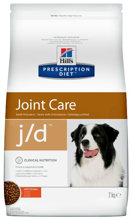 Корм для собак Hill's Prescription Diet J/D Canine Mobility dry