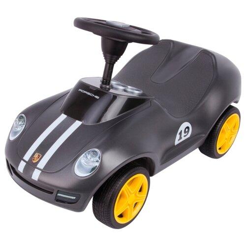 Каталка-толокар BIG Baby Porsche (56346) со звуковыми эффектами серый