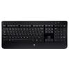 Клавиатура Logitech Wireless Illuminated Keyboard K800 Black USB