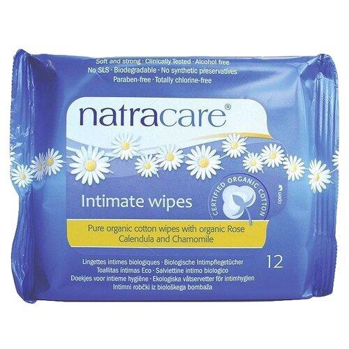 Купить Natracare Влажные салфетки для интимной гигиены Organic Cotton, 12 шт